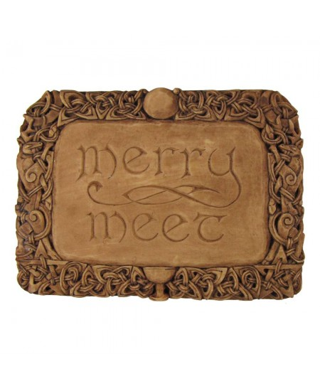 Merry Meet Pagan Wall Plaque at Mystic Convergence Metaphysical Supplies, Metaphysical Supplies, Pagan Jewelry, Witchcraft Supply, New Age Spiritual Store