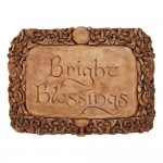 Bright Blessings Wiccan Wall Plaque at Mystic Convergence Metaphysical Supplies, Metaphysical Supplies, Pagan Jewelry, Witchcraft Supply, New Age Spiritual Store