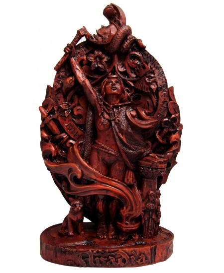Aradia, Queen of the Witches, Statue at Mystic Convergence Magical Supplies, Wiccan Supplies, Pagan Jewelry, Witchcraft Supplies, New Age Store