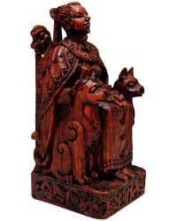 Freya, Norse Goddess of Love Seated Statue Mystic Convergence Metaphysical Supplies Metaphysical Supplies, Pagan Jewelry, Witchcraft Supply, New Age Spiritual Store