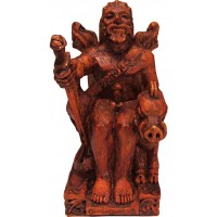 Freyr, Norse God of Fertility Seated Statue