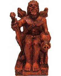 Freyr, Norse God of Fertility Seated Statue Mystic Convergence Metaphysical Supplies Metaphysical Supplies, Pagan Jewelry, Witchcraft Supply, New Age Spiritual Store