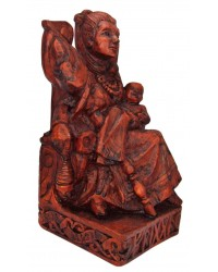 Frigga, Norse Queen of the Gods, Seated Statue Mystic Convergence Metaphysical Supplies Metaphysical Supplies, Pagan Jewelry, Witchcraft Supply, New Age Spiritual Store