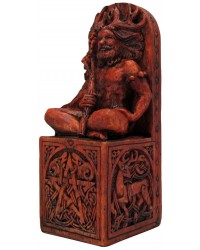 Forest God Seated Statue Mystic Convergence Metaphysical Supplies Metaphysical Supplies, Pagan Jewelry, Witchcraft Supply, New Age Spiritual Store