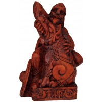Tyr, Norse God of War Seated Statue