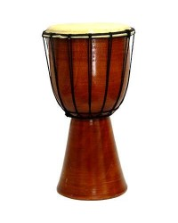 Djembe Drum Plain Red Mahogany Finish Drum Mystic Convergence Metaphysical Supplies Metaphysical Supplies, Pagan Jewelry, Witchcraft Supply, New Age Spiritual Store