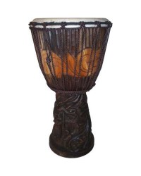 Dragon Carved Adjustable Djembe Drum Mystic Convergence Metaphysical Supplies Metaphysical Supplies, Pagan Jewelry, Witchcraft Supply, New Age Spiritual Store