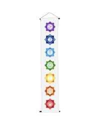 Chakra White Meditation Banner Mystic Convergence Metaphysical Supplies Metaphysical Supplies, Pagan Jewelry, Witchcraft Supply, New Age Spiritual Store