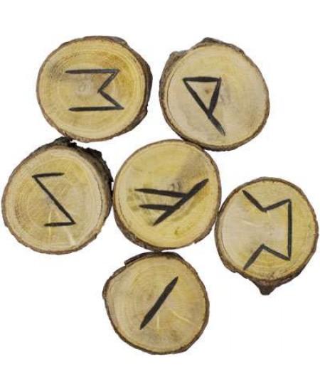 Wood Rune Set at Mystic Convergence Metaphysical Supplies, Metaphysical Supplies, Pagan Jewelry, Witchcraft Supply, New Age Spiritual Store