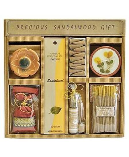 Precious Sandalwood Gift Set by Auroshikha