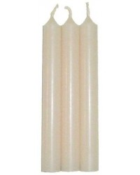 Ivory Mini Taper Spell Candles