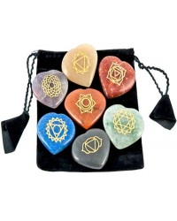 7 Heart Chakra Gem Stones in Velvet Pouch Mystic Convergence Metaphysical Supplies Metaphysical Supplies, Pagan Jewelry, Witchcraft Supply, New Age Spiritual Store