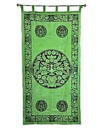Greenman Curtain Mystic Convergence Metaphysical Supplies Metaphysical Supplies, Pagan Jewelry, Witchcraft Supply, New Age Spiritual Store