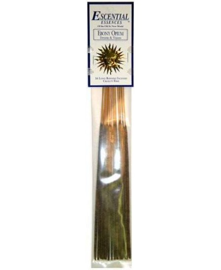 Ebony Opium Escential Essences Incense at Mystic Convergence Metaphysical Supplies, Metaphysical Supplies, Pagan Jewelry, Witchcraft Supply, New Age Spiritual Store