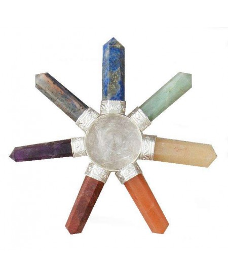 7 Chakra Crystal Energy Generator at Mystic Convergence Metaphysical Supplies, Metaphysical Supplies, Pagan Jewelry, Witchcraft Supply, New Age Spiritual Store