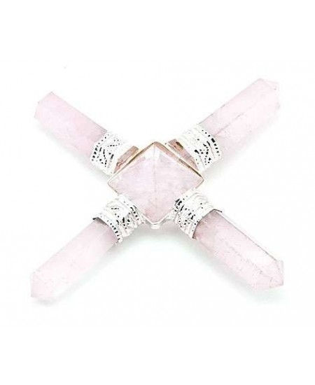 Rose Quartz Crystal Energy Generator at Mystic Convergence Metaphysical Supplies, Metaphysical Supplies, Pagan Jewelry, Witchcraft Supply, New Age Spiritual Store