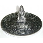 Buddha Metal Incense Burner at Mystic Convergence Metaphysical Supplies, Metaphysical Supplies, Pagan Jewelry, Witchcraft Supply, New Age Spiritual Store