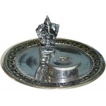Ganesh with Altar Metal Incense Burner at Mystic Convergence Metaphysical Supplies, Metaphysical Supplies, Pagan Jewelry, Witchcraft Supply, New Age Spiritual Store