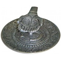 Offering Hands Metal Incense Burner