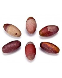 Shiva Lingam Stone - Set of 6 1 Inch Sacred Stones Mystic Convergence Metaphysical Supplies Metaphysical Supplies, Pagan Jewelry, Witchcraft Supply, New Age Spiritual Store