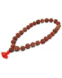 Rudraksha 27 Bead Prayer Mala Mystic Convergence Metaphysical Supplies Metaphysical Supplies, Pagan Jewelry, Witchcraft Supply, New Age Spiritual Store