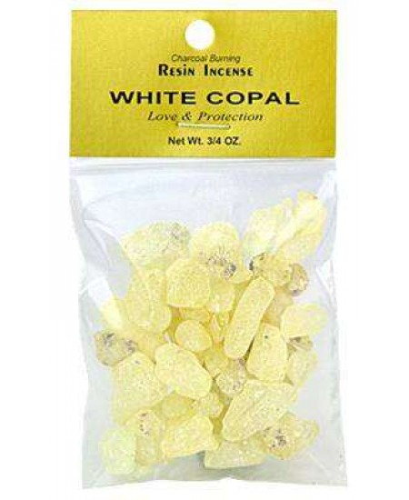 Copal White Resin Incense at Mystic Convergence Metaphysical Supplies, Metaphysical Supplies, Pagan Jewelry, Witchcraft Supply, New Age Spiritual Store