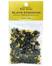 Ethiopian Black Resin Incense Mystic Convergence Metaphysical Supplies Metaphysical Supplies, Pagan Jewelry, Witchcraft Supply, New Age Spiritual Store