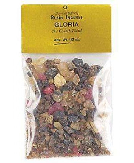 Gloria Natural Resin Incense Blend at Mystic Convergence Metaphysical Supplies, Metaphysical Supplies, Pagan Jewelry, Witchcraft Supply, New Age Spiritual Store