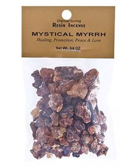 Mystical Myrrh Resin Incense at Mystic Convergence Metaphysical Supplies, Metaphysical Supplies, Pagan Jewelry, Witchcraft Supply, New Age Spiritual Store
