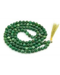 Green Aventurine Prayer Bead Mala Mystic Convergence Metaphysical Supplies Metaphysical Supplies, Pagan Jewelry, Witchcraft Supply, New Age Spiritual Store