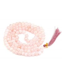 Rose Quartz Prayer Bead Mala Mystic Convergence Metaphysical Supplies Metaphysical Supplies, Pagan Jewelry, Witchcraft Supply, New Age Spiritual Store
