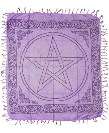 Purple Pentagram Altar Cloth at Mystic Convergence Metaphysical Supplies, Metaphysical Supplies, Pagan Jewelry, Witchcraft Supply, New Age Spiritual Store