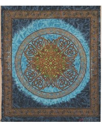 Celtic Print Tapestry Mystic Convergence Metaphysical Supplies Metaphysical Supplies, Pagan Jewelry, Witchcraft Supply, New Age Spiritual Store