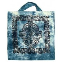 Celtic Cross Cotton Tote Bag