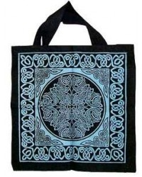 Celtic Knotwork Cotton Tote Bag Mystic Convergence Metaphysical Supplies Metaphysical Supplies, Pagan Jewelry, Witchcraft Supply, New Age Spiritual Store