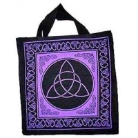 Triquetra Charmed Symbol Cotton Tote Bag