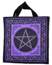 Pentagram Cotton Tote Bag Mystic Convergence Metaphysical Supplies Metaphysical Supplies, Pagan Jewelry, Witchcraft Supply, New Age Spiritual Store