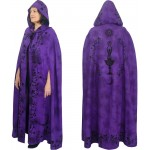 Purple Moon Goddess Hooded Cloak at Mystic Convergence Metaphysical Supplies, Metaphysical Supplies, Pagan Jewelry, Witchcraft Supply, New Age Spiritual Store