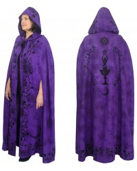 Purple Moon Goddess Hooded Cloak Mystic Convergence Metaphysical Supplies Metaphysical Supplies, Pagan Jewelry, Witchcraft Supply, New Age Spiritual Store