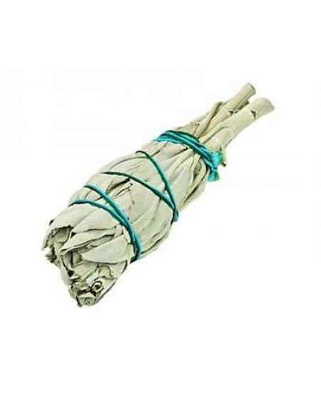 White Sage Smudge Stick - Mini Smudge at Mystic Convergence Metaphysical Supplies, Metaphysical Supplies, Pagan Jewelry, Witchcraft Supply, New Age Spiritual Store