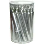 Silver Metallic Mini Taper Spell Candles