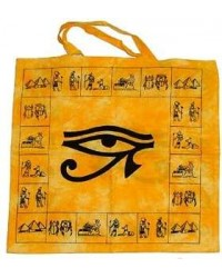 Egyptian Eye of Horus Cotton Tote Bag Mystic Convergence Metaphysical Supplies Metaphysical Supplies, Pagan Jewelry, Witchcraft Supply, New Age Spiritual Store