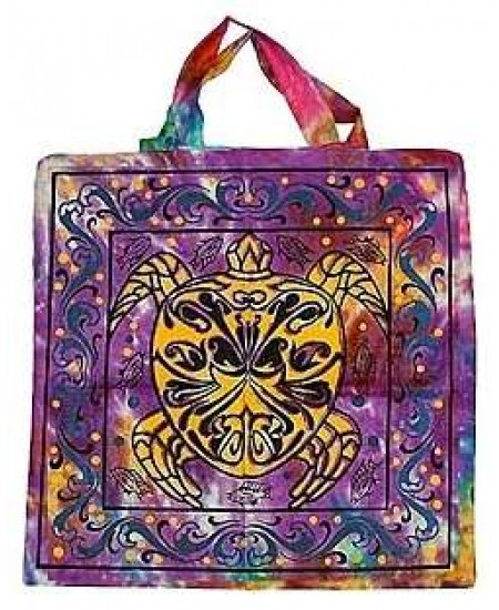 Turtle Cotton Tote Bag at Mystic Convergence Metaphysical Supplies, Metaphysical Supplies, Pagan Jewelry, Witchcraft Supply, New Age Spiritual Store