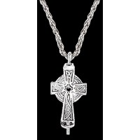 Celtic Cross Aromatherapy Diffuser Pendant