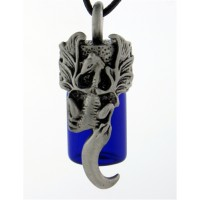 Dragon Essential Oil Bottle Vial Necklace