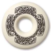Celtic Cross Annulus Porcelain Necklace