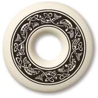 Celtic Fish Annulus Porcelain Necklace
