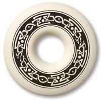 Celtic Serpent Annulus Porcelain Necklace