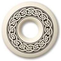 Celtic Knotwork Annulus Porcelain Necklace