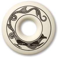 Dragon Annulus Porcelain Necklace